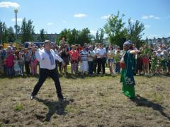 Як Сєвєродонецьк святкував День народження Луганщини: губернатор вправлявся з батогом