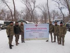 Військові медики безкоштовно надають допомогу цивільному населенню