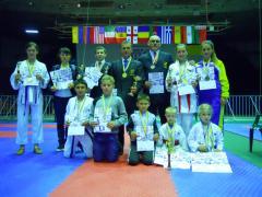 19 медалей завоювали спортсмени луганщини на Кубку світу з Годзю-рю карате