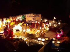 В Северодонецке прошел митинг-реквием в честь погибших мирных граждан