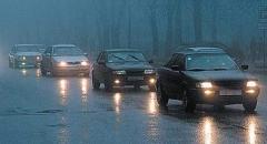 ДАІ попередила про небезпеку на дорогах в осінньо-зимовий період