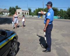 Державтоінспекція Луганської області стурбована фактами ДТП за участю пішоходів