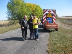 Державтоінспекція Луганщини проводить сезонне обстеження вулично-дорожньої мережі