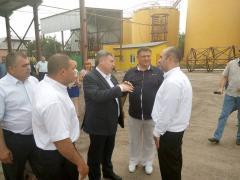 Юрій Гарбуз у Троїцькому відвідав підприємство з переробки соняшнику