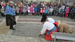 Общественники показали спектакль в сквере Гоголя