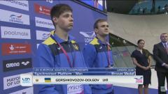 Луганчанин Олександр Горшковозов завоював ще одну медаль європейської першості з водних видів спорту