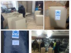 В Украину прибыла первая партия спальников для переселенцев - УВКБ ООН