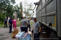 До Сєвєродонецька прибула вже шоста гуманітарна допомога від Миколаївської області