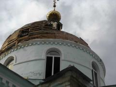 В поселке Новосветловка восстанавливается храм