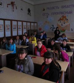 У школах Попаснянського району провели профорієнтаційні уроки