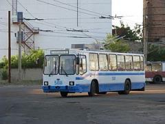 В связи с аварией на проспекте Химиков движение троллейбусов 1 и 5 маршрутов изменено