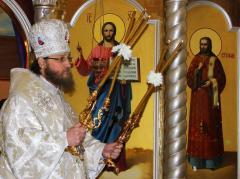 Торжественное богослужение по случаю 10-летия образования Северодонецкой епархии