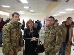 Офіцери СІМІС на відкритті Луганського прес-клубу