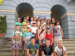 Як діти з Рубіжного на Буковині відпочивали