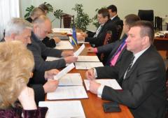 29 грудня відбулося чергове засідання виконавчого комітету