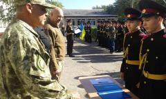 На Луганщині ліцеїсти Луганського кадетського корпусу прийняли присягу на вірність Україні