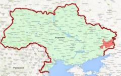 Список районов Донецкой и Луганской областей с особым статусом и порядком местного самоуправления
