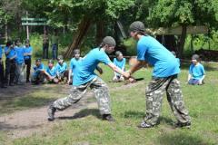 В Кременной открылась первая смена лагеря «Единая страна»