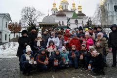 Дети Луганщины посетили Киево-Печерскую Лавру