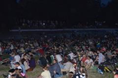 В Северодонецке прошел кинопоказ под открытым небом ко Дню Независимости