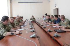 Розпочались командно-штабні навчання з територіальної оборони в Луганській області