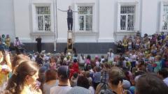 «Клоуны без границ» побывали в Северодонецке