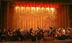Концерт оркестра Луганской филармонии прошел в Северодонецке