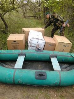 Товари на суму маже 550 тисяч гривень затримали учора прикордонники на Луганщині