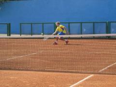 В Северодонецке открыли отремонтированный корт для большого тенниса