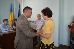 В міськраді нагородили сєвєродончан з нагоди Дня Конституції України
