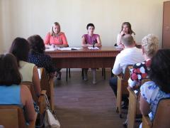 У Луганській обласній ВЦА пройшла колегія управління культури, національностей та релігій ОДА