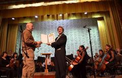 Академічний симфонічний оркестр Луганської обласної філармонії відсвяткував 70-у річницю від дня заснування колективу