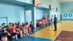 В пришкільних таборах проводяться заняття щодо дотримання правил поведінки на воді