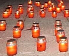 В Северодонецке зажгли свечи памяти