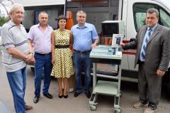 Луганська обласна клінічна лікарня отримала апарат ультра- звукового дослідження