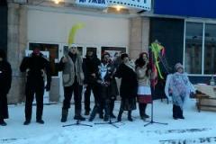 В Лисичанске весело отпраздновали Рождественский сочельник
