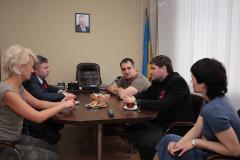 Юрій Гарбуз зустрівся з головою Львівської облради Олександром Ганущиним
