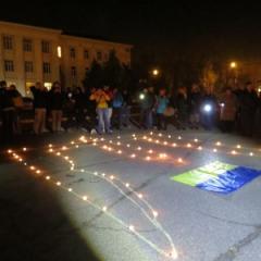 В Северодонецке провели акцию «УКРАЇНА — ЦЕ Я!»