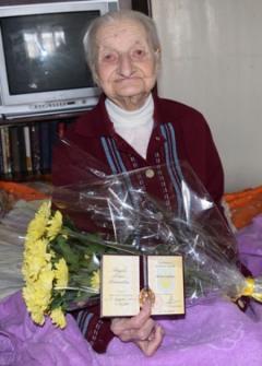 "Звание ""Матери-героини"" получила 96-летняя жительница Северодонецка"