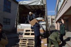 В Северодонецк привезли медицинское оборудование из Дании