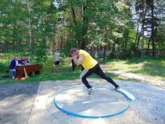 В Кременной прошел чемпионат по легкоатлетическим метаниям