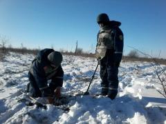 У Луганській області продовжуються роботи з розмінування