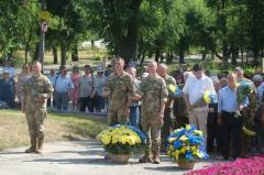 В Луганской области скорбили о жертвах войны