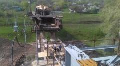 Продолжаются работы по восстановлению моста между Лисичанском и Северодонецком