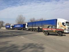 Шістдесят тонн гуманітарної допомоги прибуло з Миколаївщини
