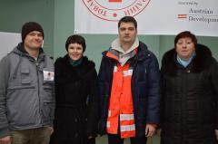У містах Луганщини буде роздано 3700 продуктових наборів від австрійського Червоного Хреста