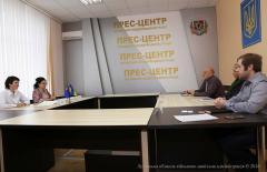 Відбулася зустріч керівництва облдержадміністрації з представниками MercyCorps