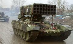 У боевиков появилась огнеметная система Буратино - ОК Север