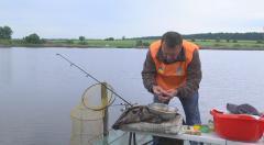 Соревнование по рыбной ловле прошли в Окнино