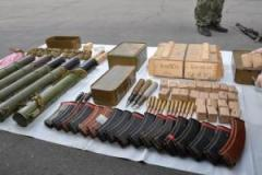 На блокпосту в Днепропетровской области СБУ изъяла оружие и боеприпасы
